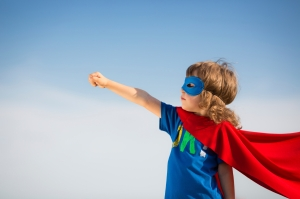 Superhero kid